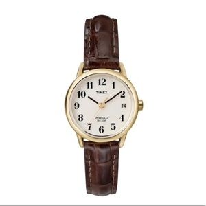 Timex small brown watch
